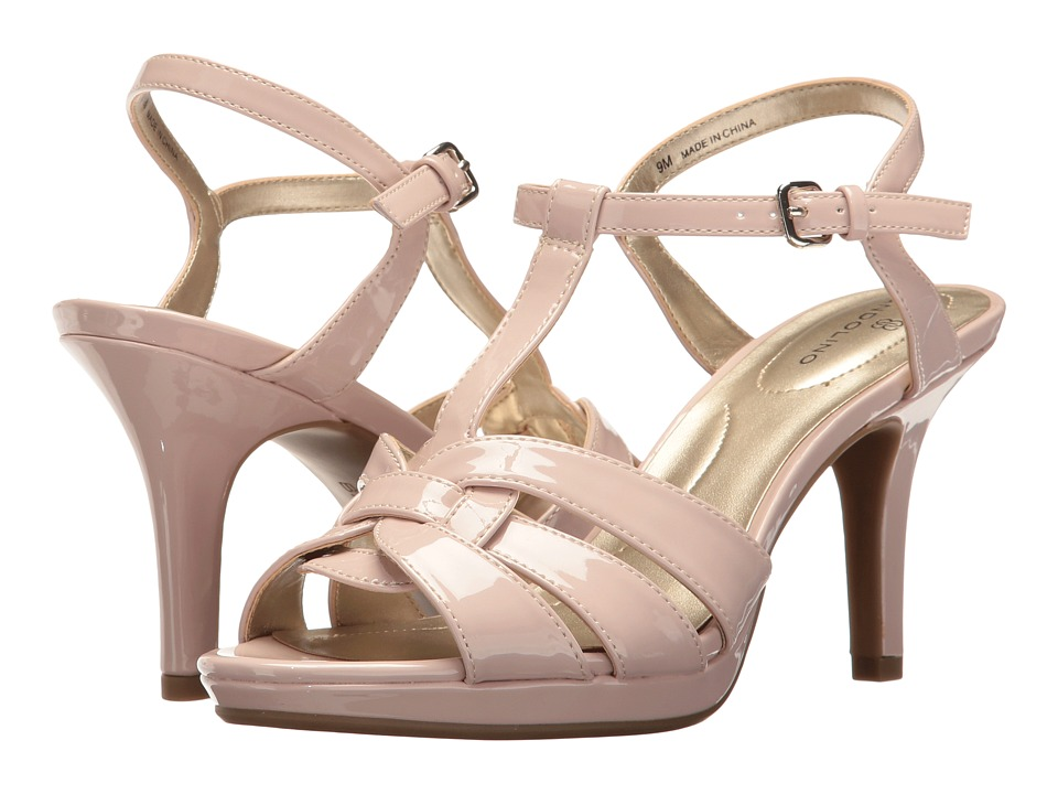 Bandolino - Sarahi (Light Pink Super Soft Patent Pu) Women's Sandals