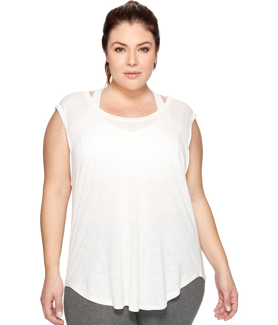 Marika Curves Plus Size Meabry Dolman T-Shirt (Heather Pristine) Women