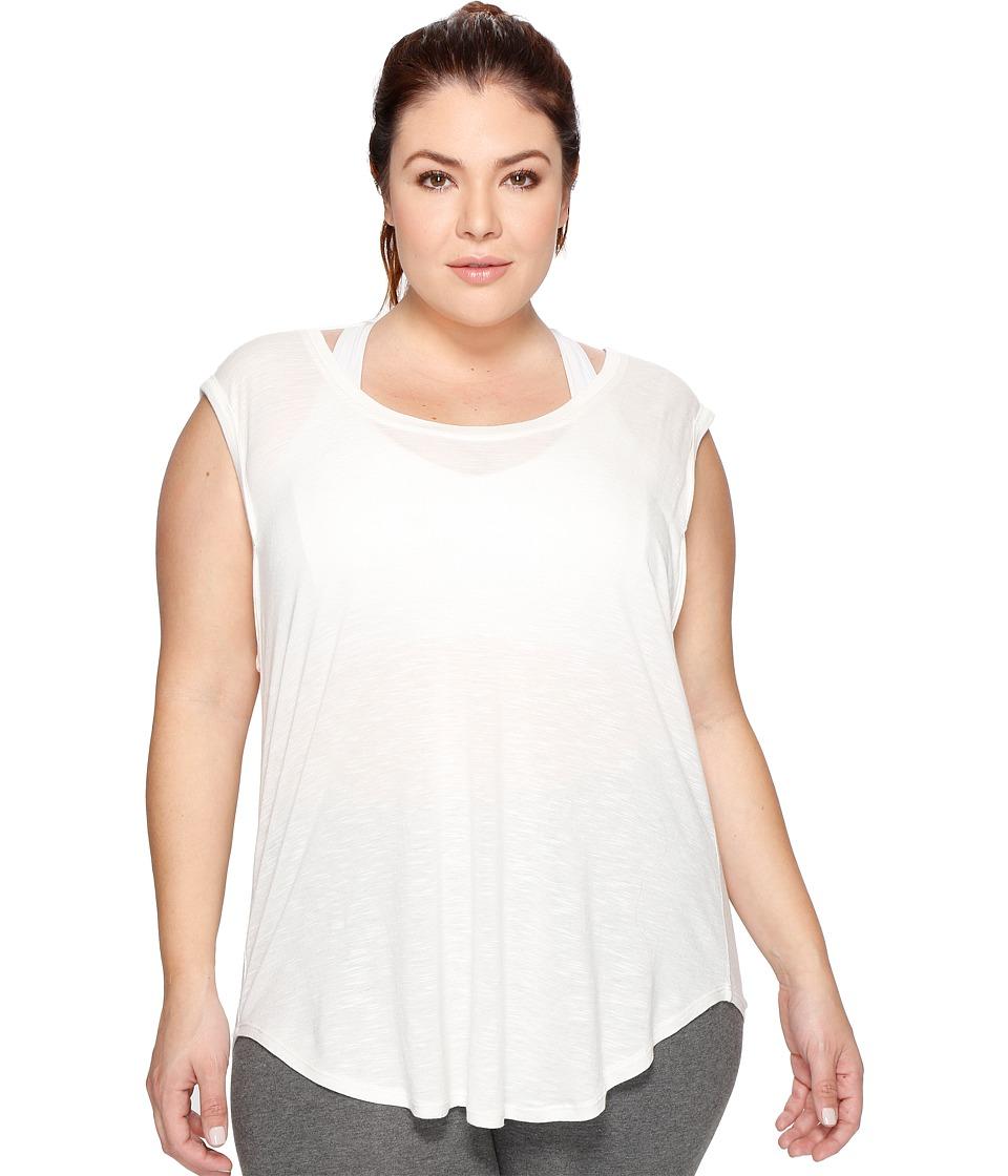 Marika Curves Plus Size Meabry Dolman T-Shirt (Heather Pristine) Women