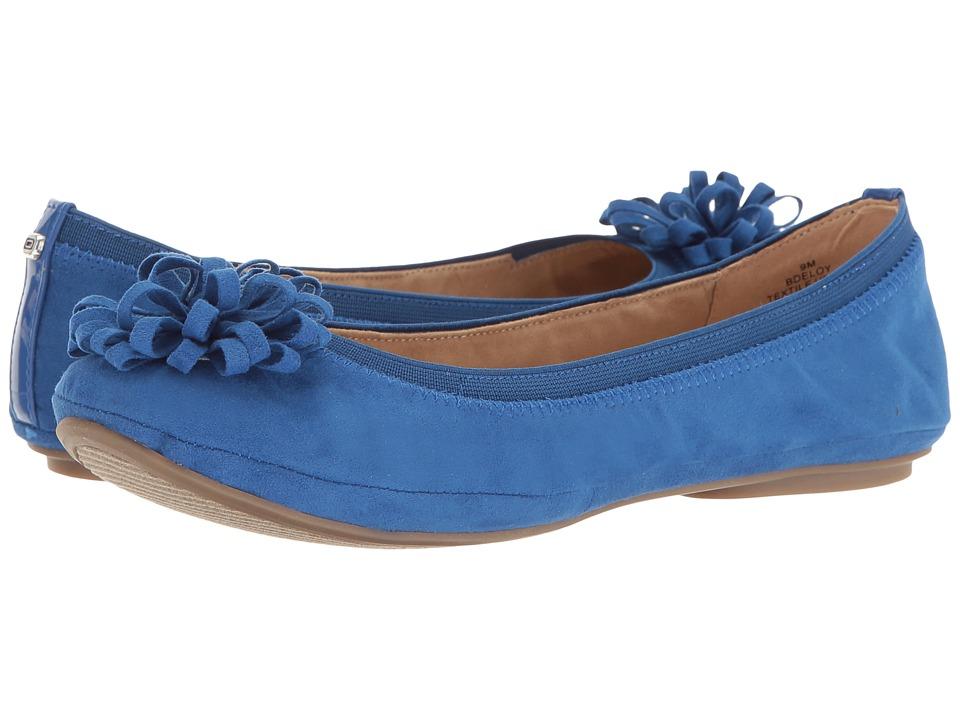 Bandolino - Eloy (Blue Multi Faux Suede) Women's Sandals