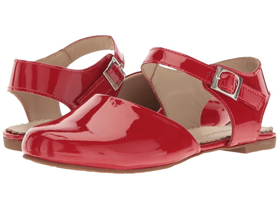 Elephantito Elisa Flat (Toddler/Little Kid/Big Kid) (Red) Girls Shoes