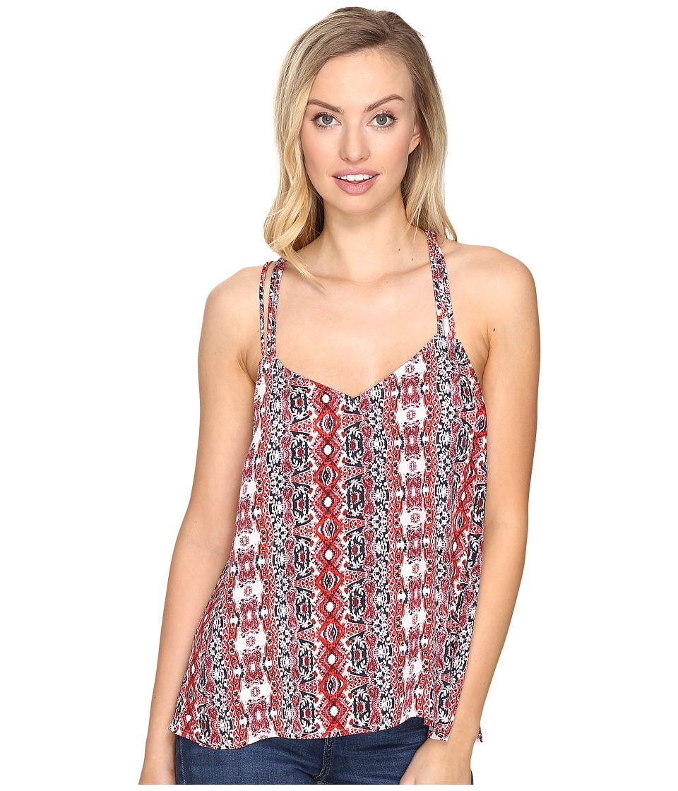 Jack by BB Dakota - Marjoram Printed Strap Tank Top (Ivory) Women's Sleeveless