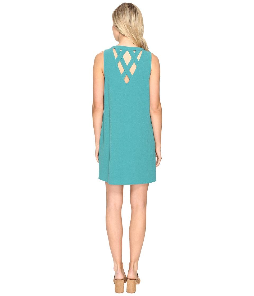 Jack by BB Dakota - Ballard Crepe Shift Dress (Jade Green) Women's Dress
