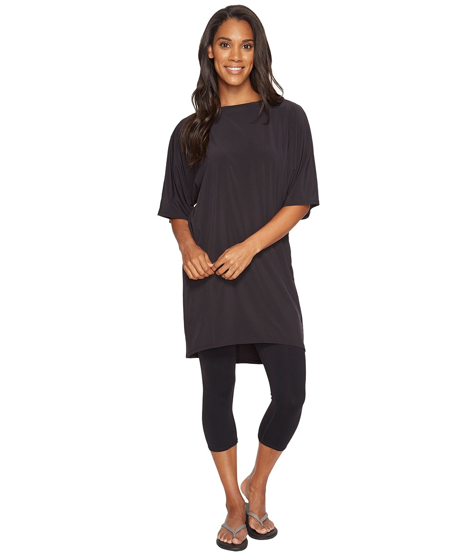 Lucy - Wonder Away Tunic (Lucy Black) Women's Blouse
