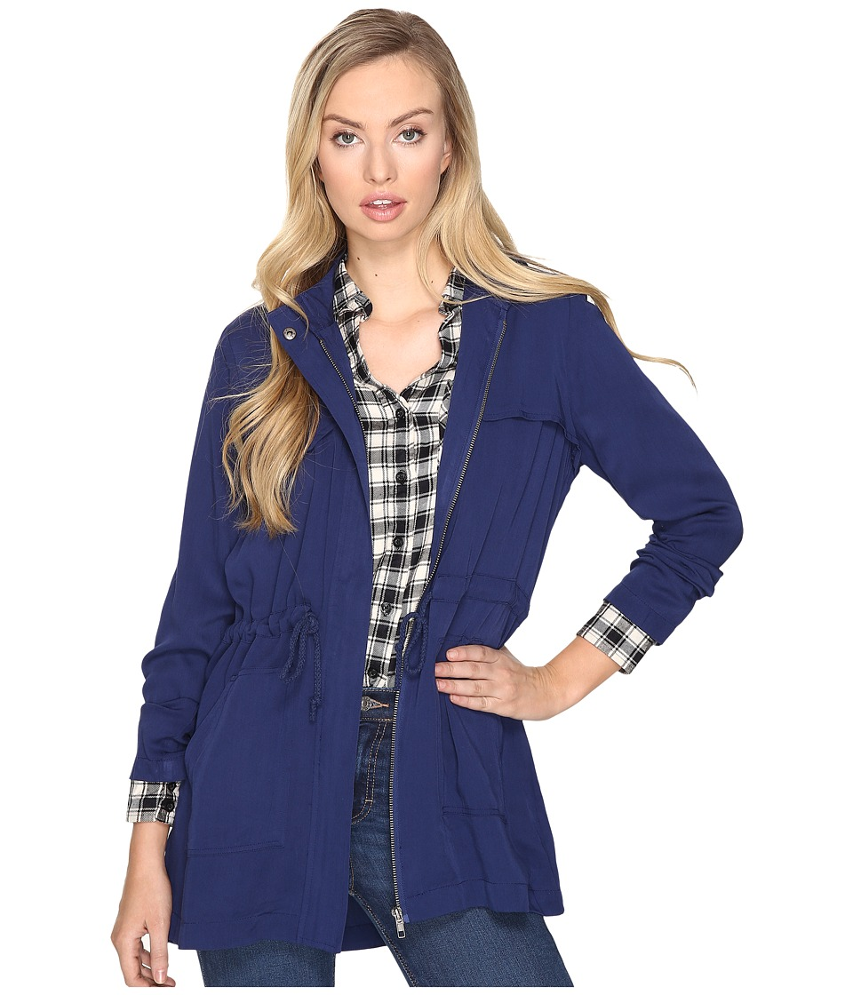 Jack by BB Dakota - Cayenne Anorak Jacket (Lapis Blue) Women's Coat