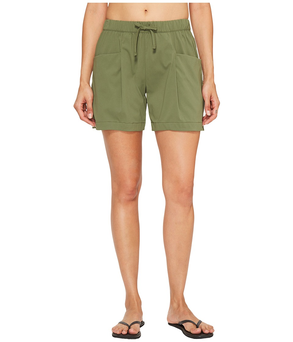 Lucy - Rogue Shorts (Rich Olive) Women's Shorts