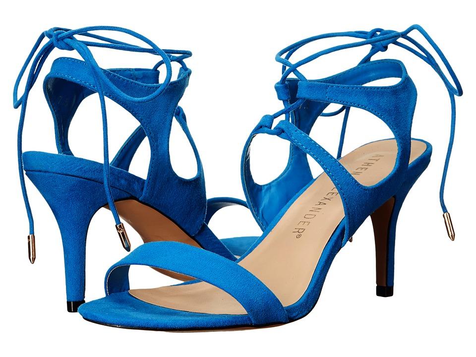 Athena Alexander - Shalamar (Blue Suede) Women's Shoes