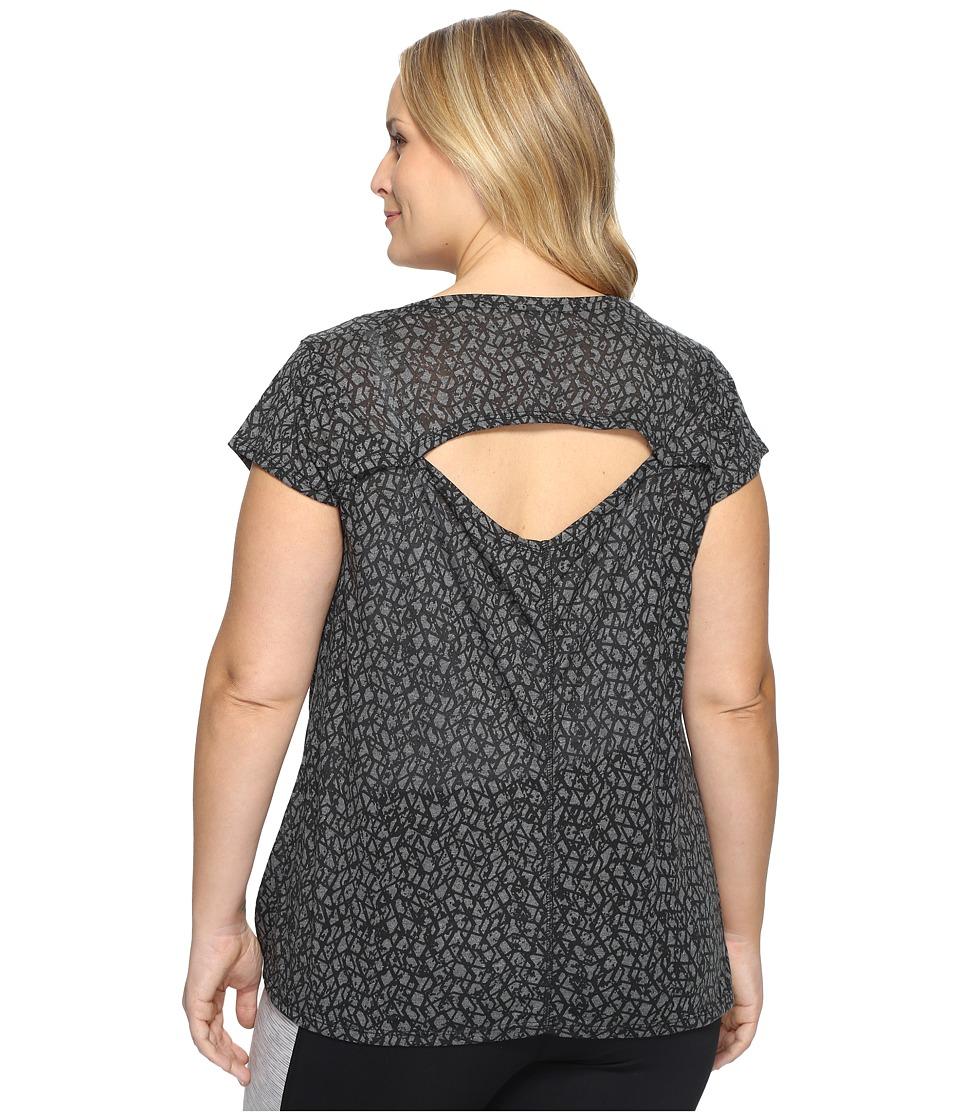 Marika Curves - Plus Size Giselle Tunic (Black) Women's Clothing