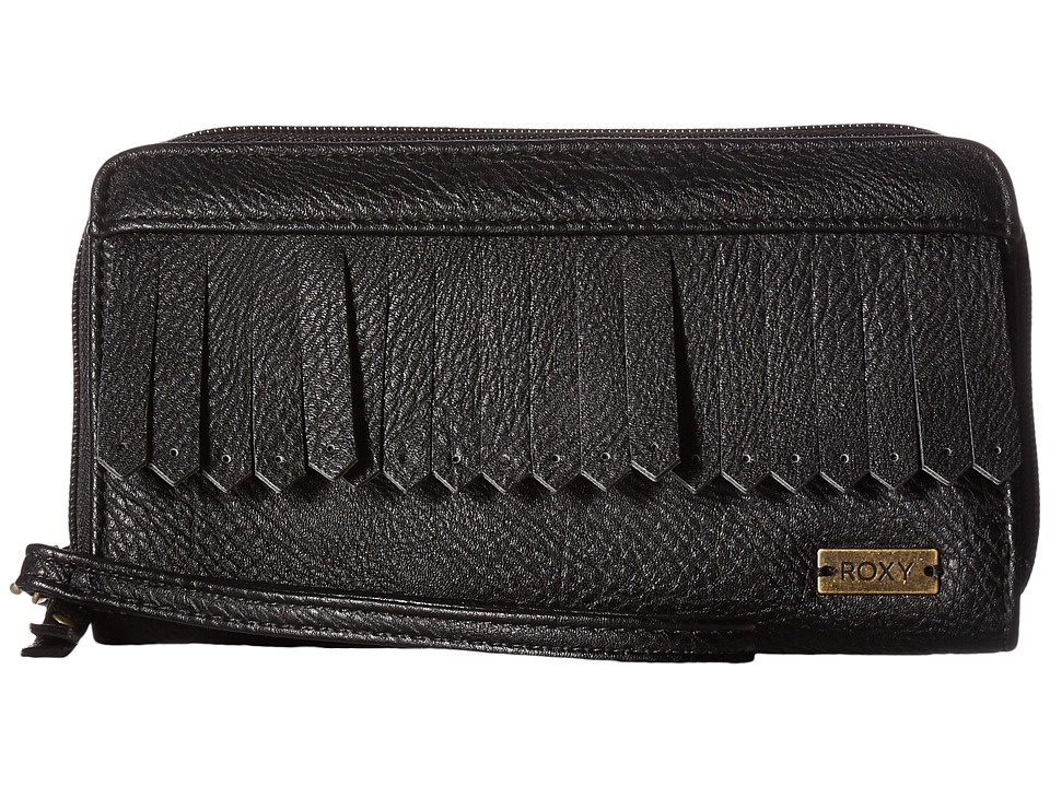 Roxy - Poppy Field Wallet (Anthracite) Wallet Handbags