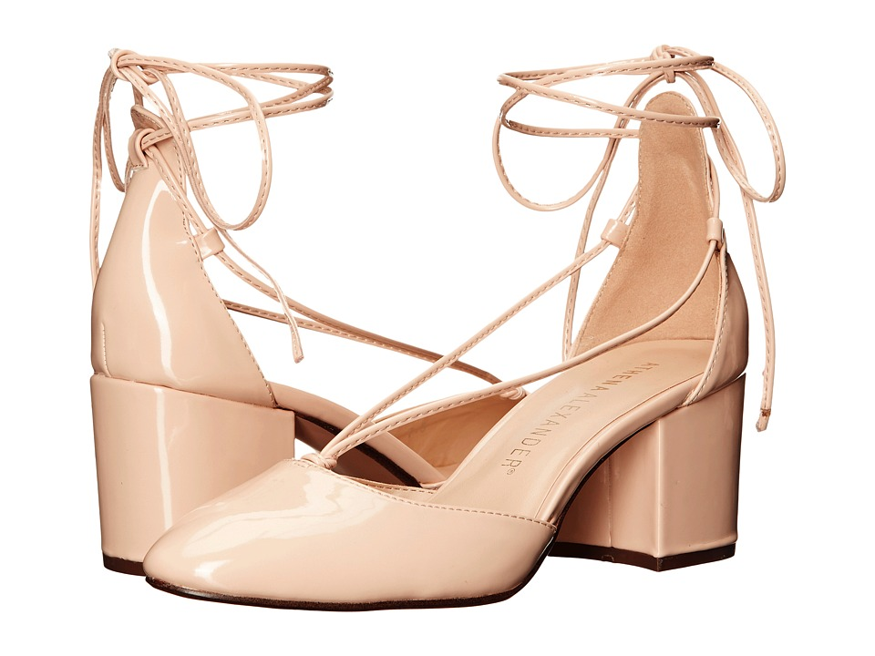 Athena Alexander - Caprice (Nude Patent) Women's Wedge Shoes