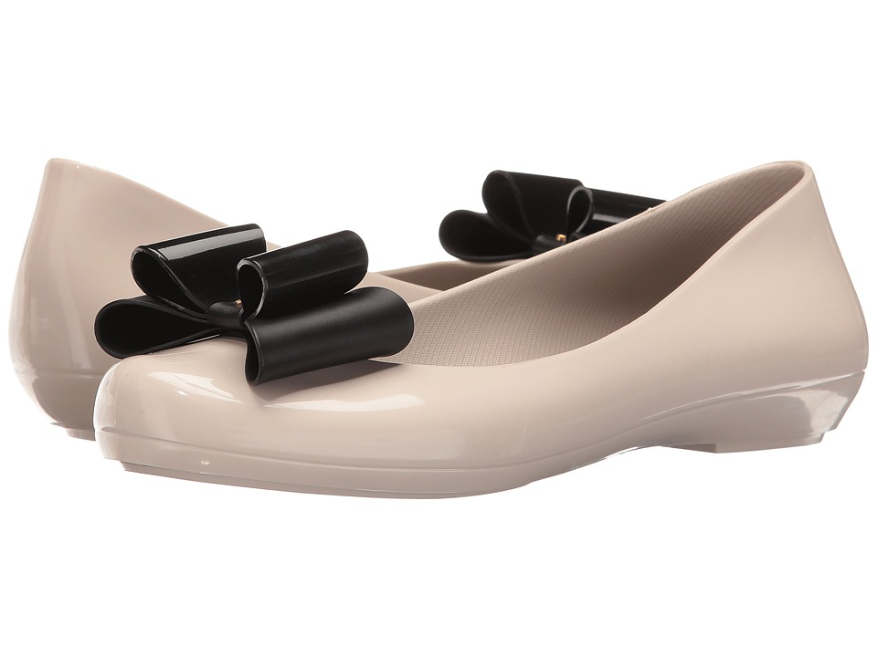 ZAXY - Pop Bow (Beige/Black) Women's Shoes