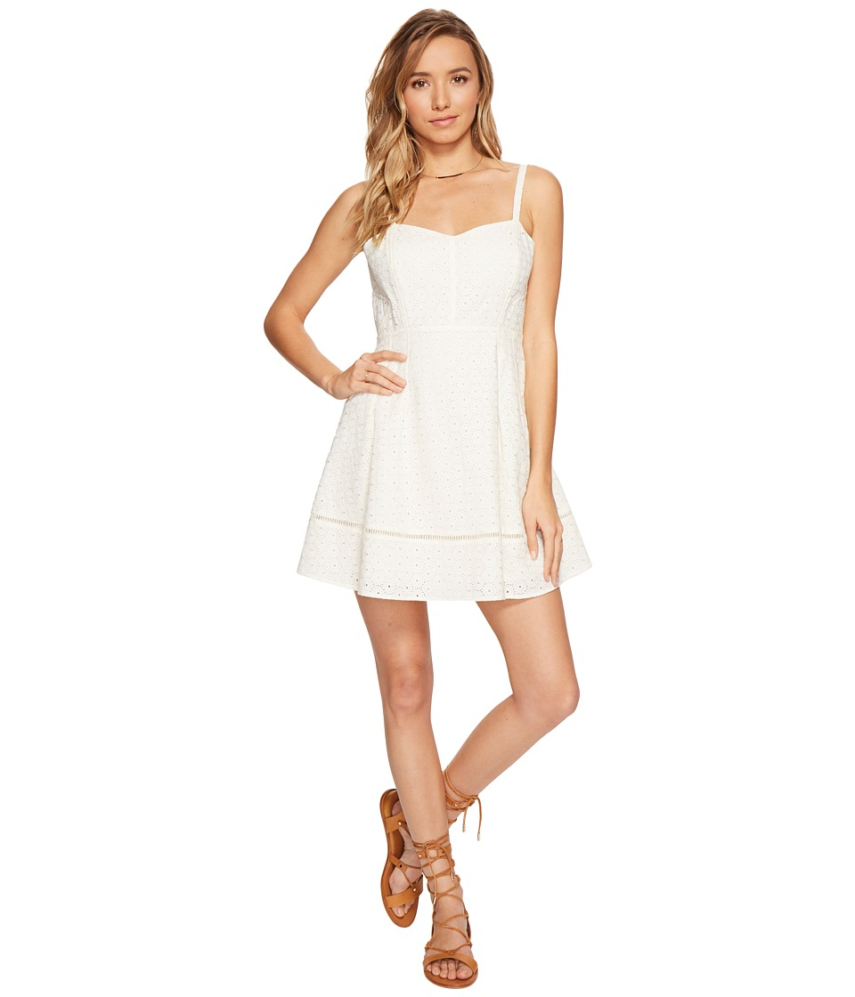Jack by BB Dakota - Gaines Cotton Eyelet Dress (Ivory) Women's Dress