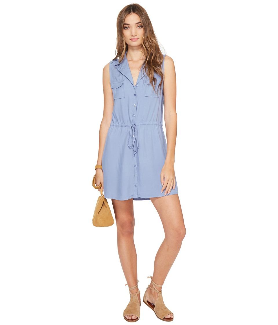 Jack by BB Dakota Santos Shirtdress (Stonewash Blue) Women