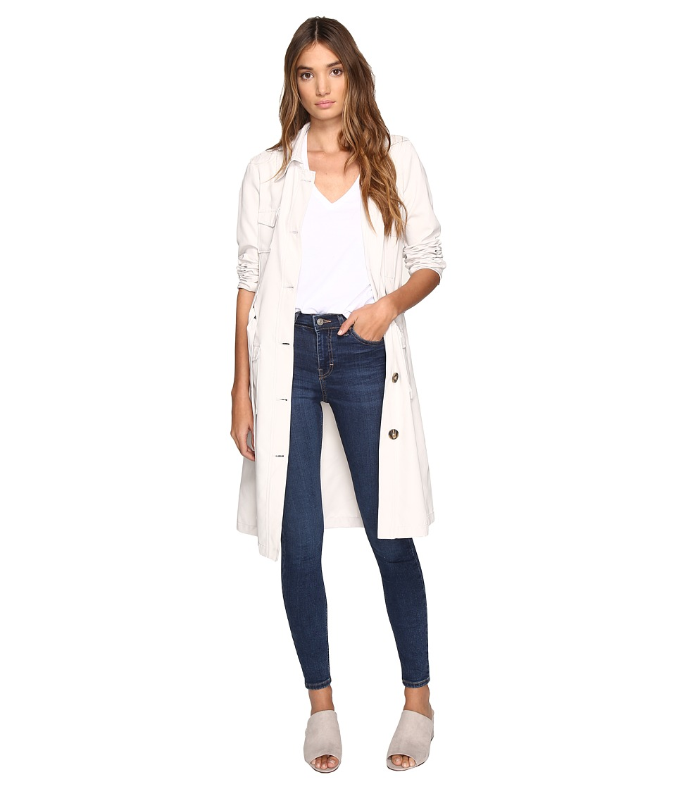 Jack by BB Dakota - Artemis Trench Coat (Oyster) Women's Coat