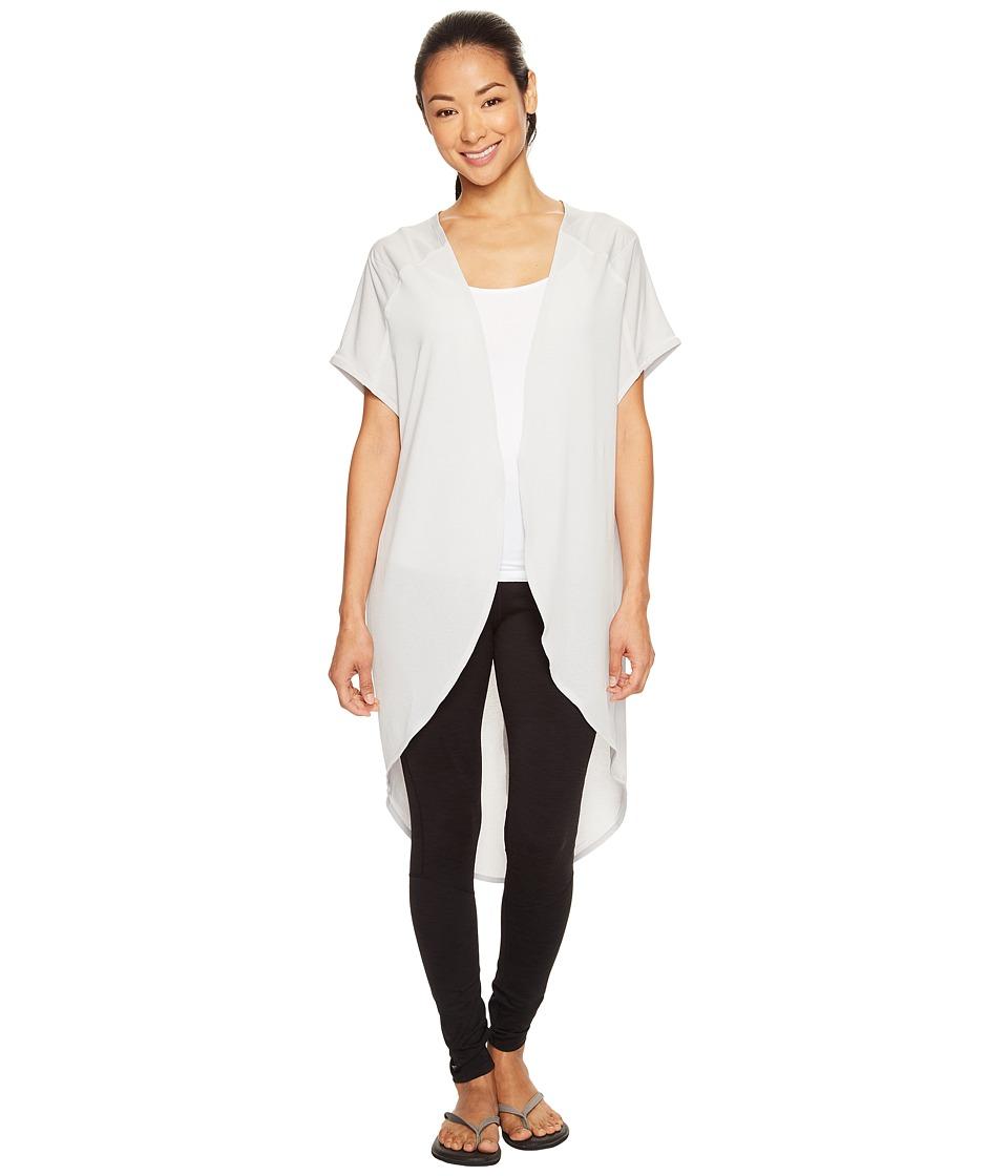 Lucy - Yoga Flow Wrap (Dove Grey (Prior Season)) Women's Clothing