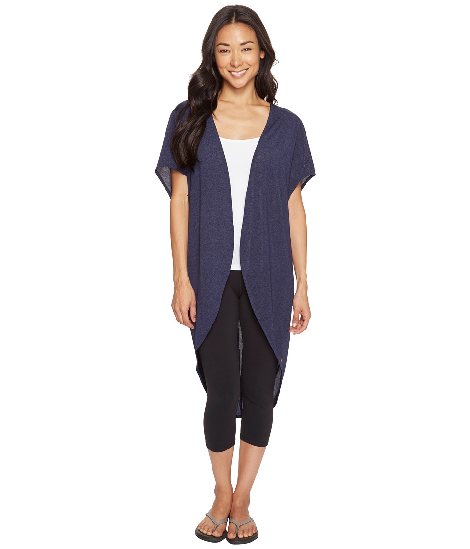 Lucy - Yoga Flow Wrap (Lucy Navy) Women's Clothing