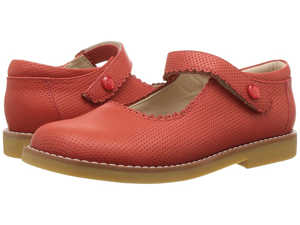 Elephantito - Mary Jane (Toddler/Little Kid) (Ferrari Red) Girl's Shoes