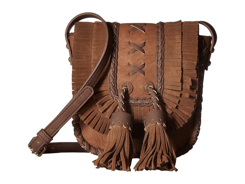 Steven - Jkorina Leather Trim (Brown) Handbags