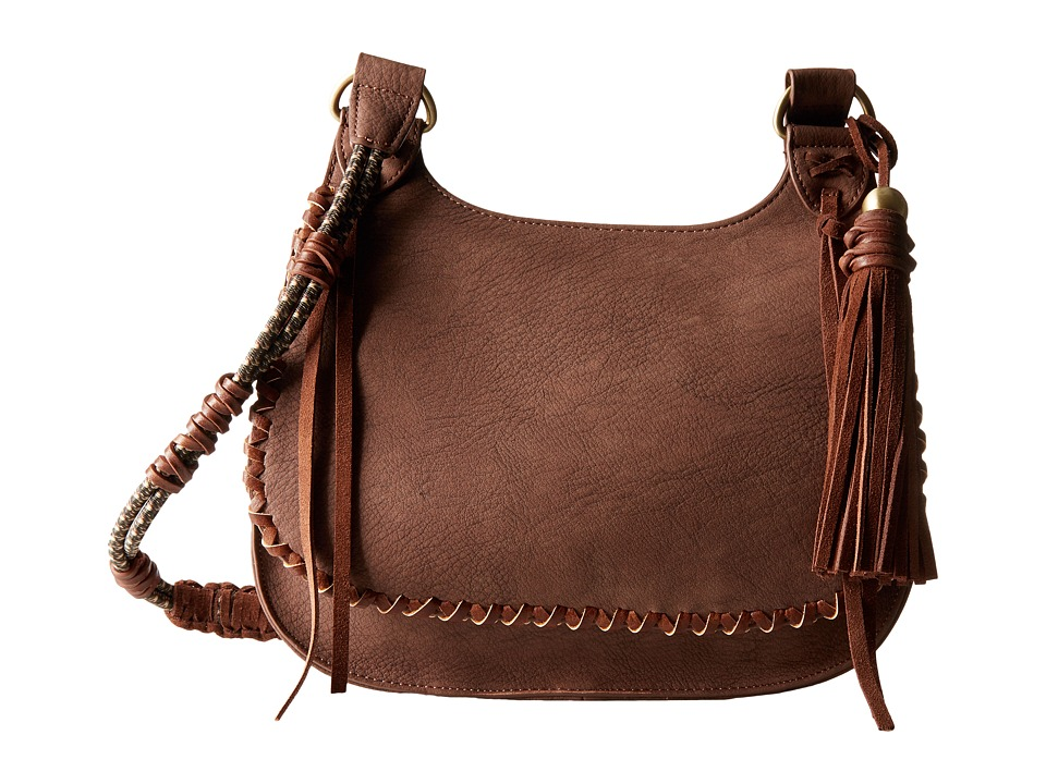 Steven - Jevelyn Saddle (Brown) Handbags