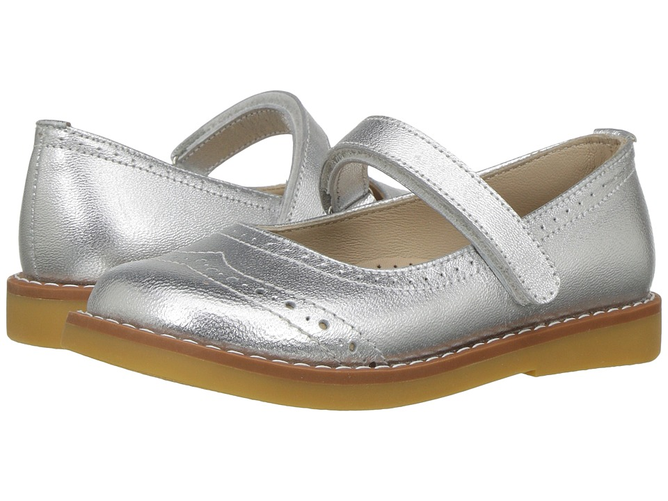 Elephantito - Martina Flats (Toddler/Little Kid/Big Kid) (Silver) Girls Shoes