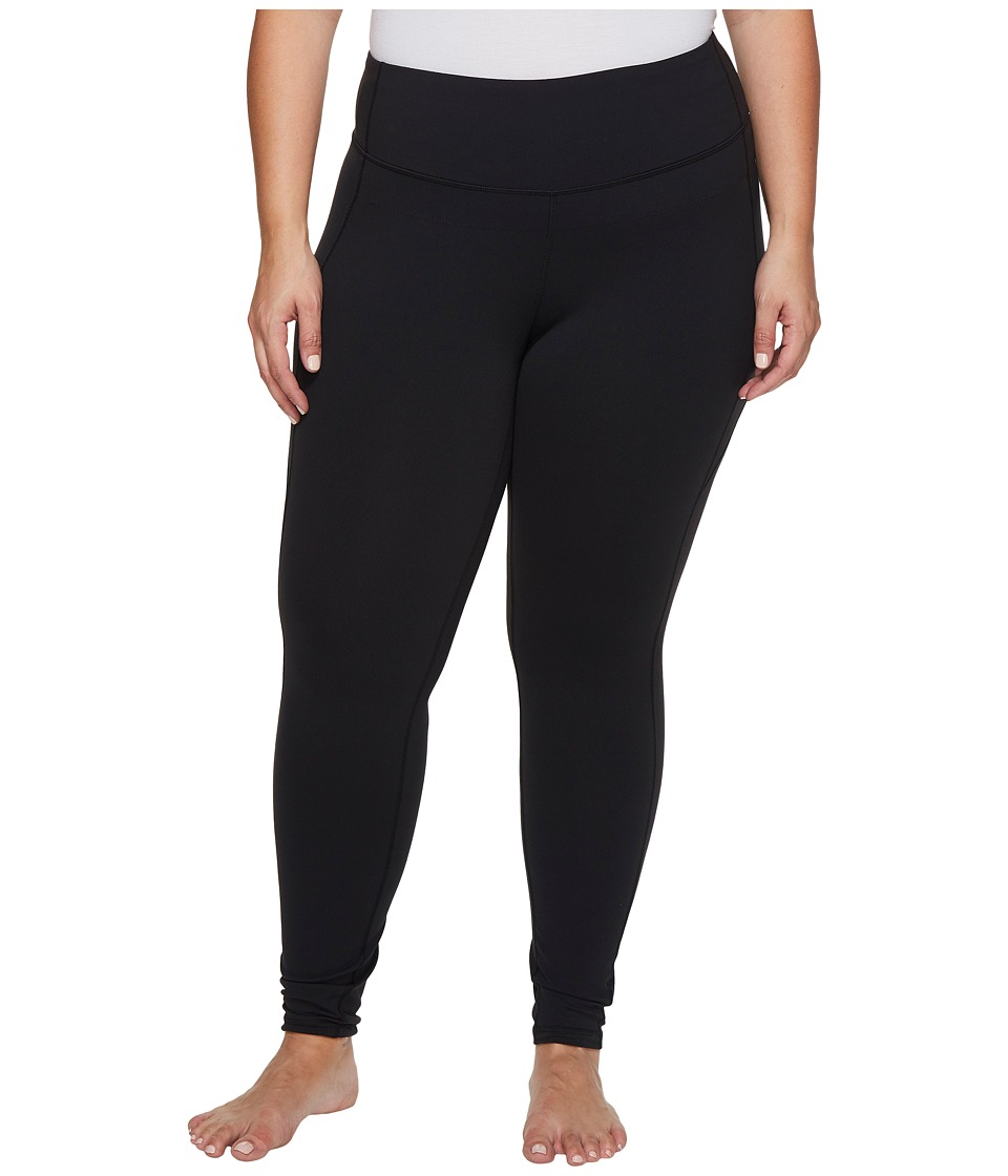 Lucy Extended Perfect Core Leggings (Lucy Black) Women