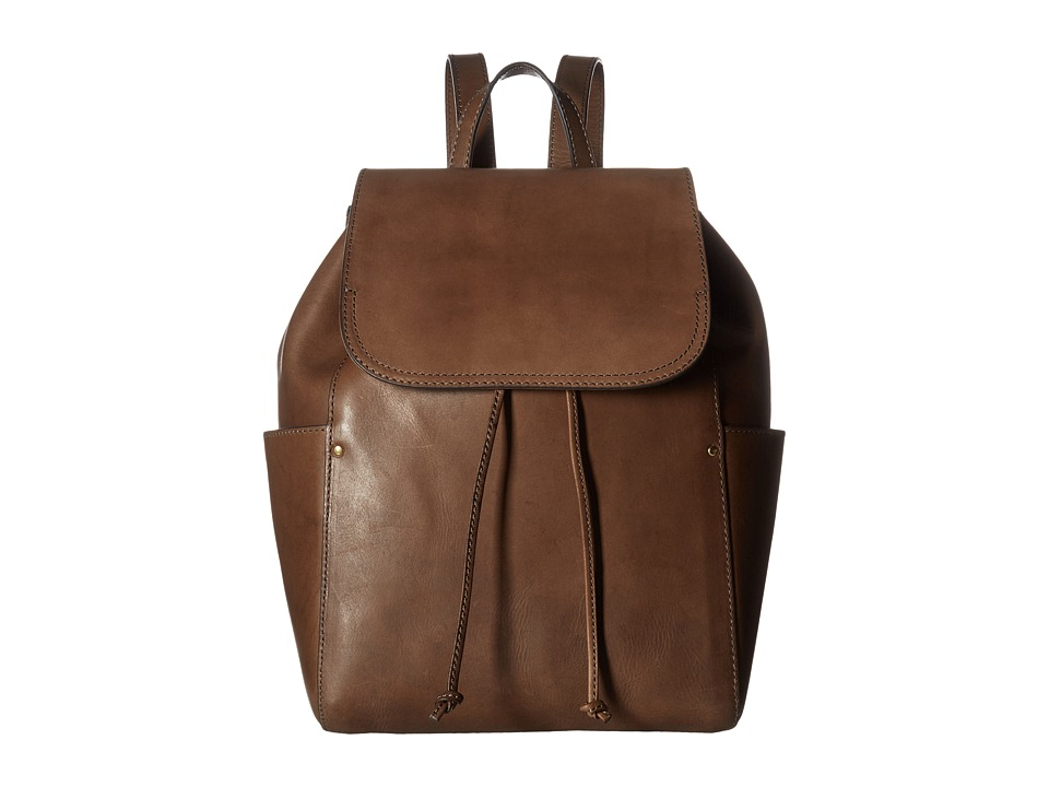 Frye - Casey Backpack (Charcoal) Backpack Bags