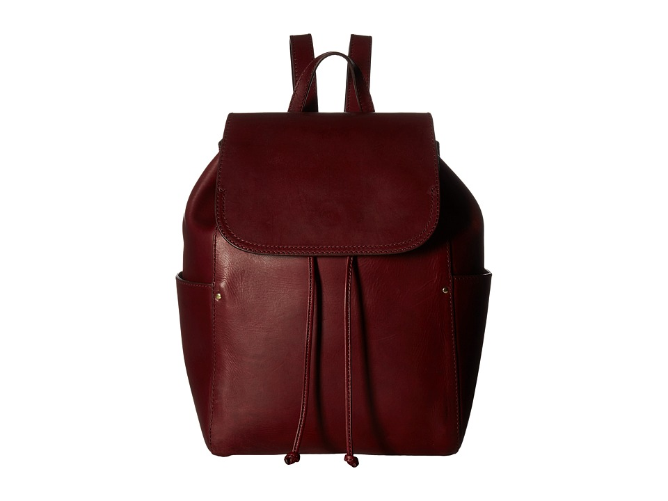 Frye - Casey Backpack (Wine) Backpack Bags