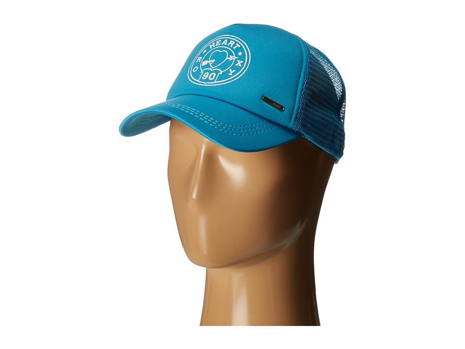 Roxy - Truckin 2 Hat (Mosaic Blue) Caps