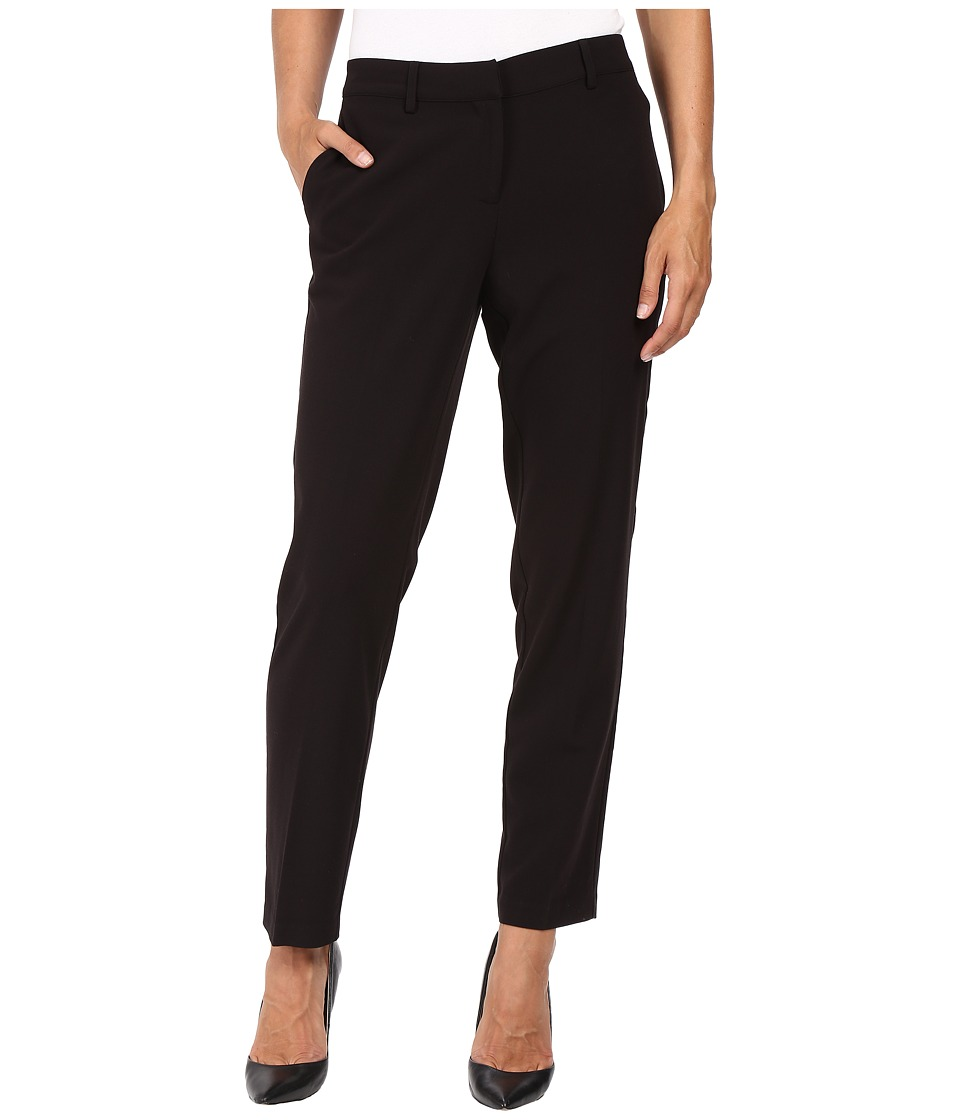 kensie - Stretch Crepe Pants KS8K1S79 (Black) Women's Casual Pants