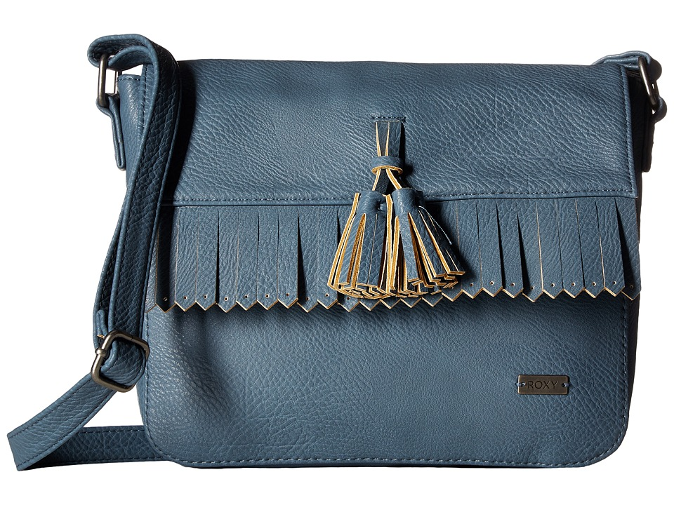 Roxy - Botanic Quilts Crossbody Handbag (Captains Blue) Cross Body Handbags