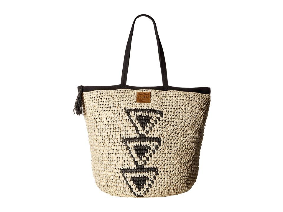 Roxy - Got Rhythm Beach Tote (Anthracite) Tote Handbags