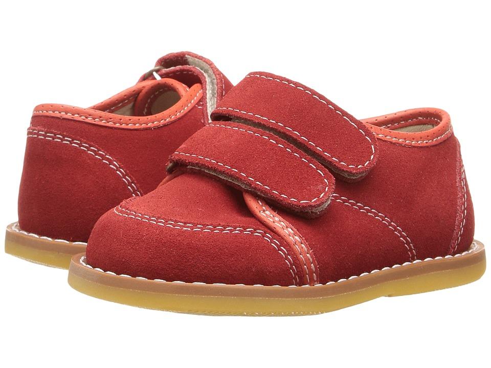Elephantito Low Top Sneaker (Toddler) (Red) Boy