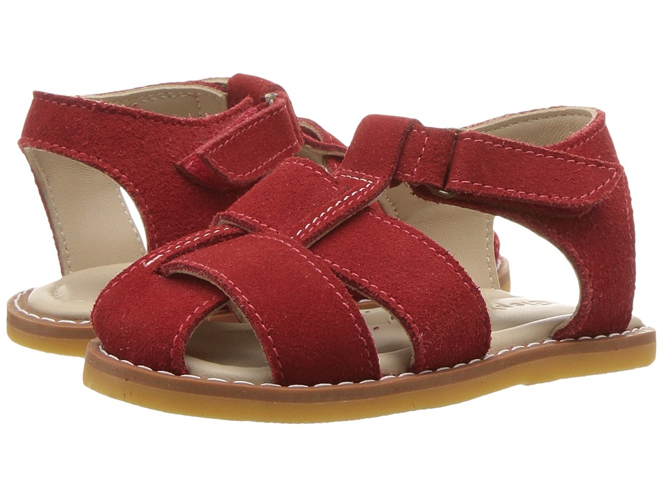 Elephantito - Anthony Sandal (Toddler) (Red) Boys Shoes