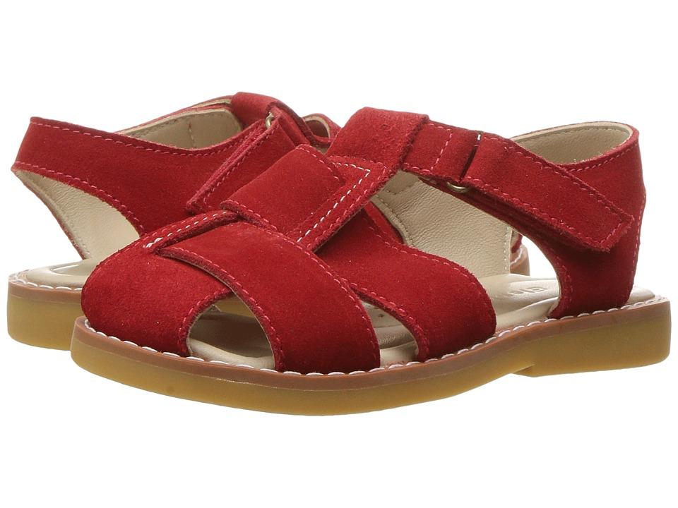 Elephantito Anthony Sandal (Toddler/Little Kid/Big Kid) (Red) Boys Shoes