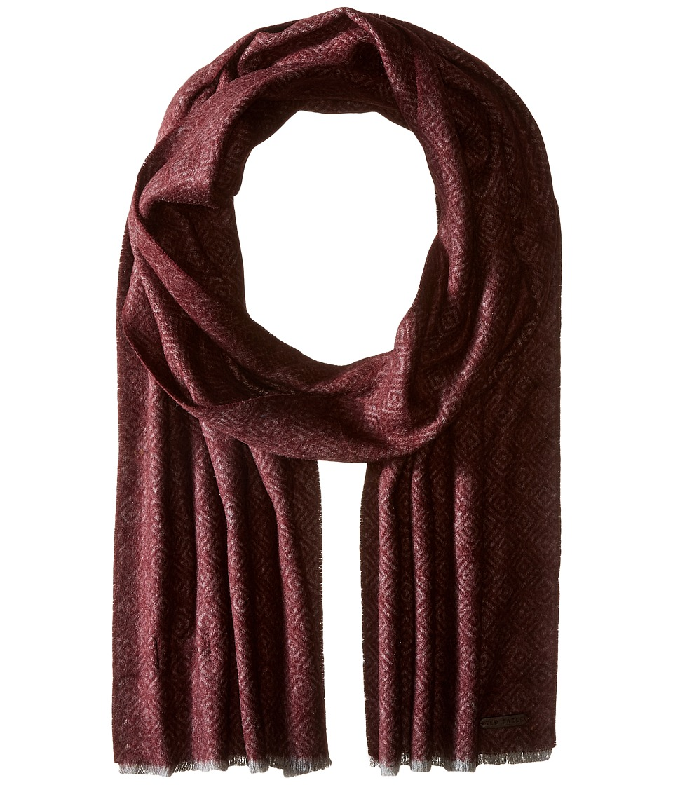 Ted Baker - Mayfair (Dark Red) Scarves