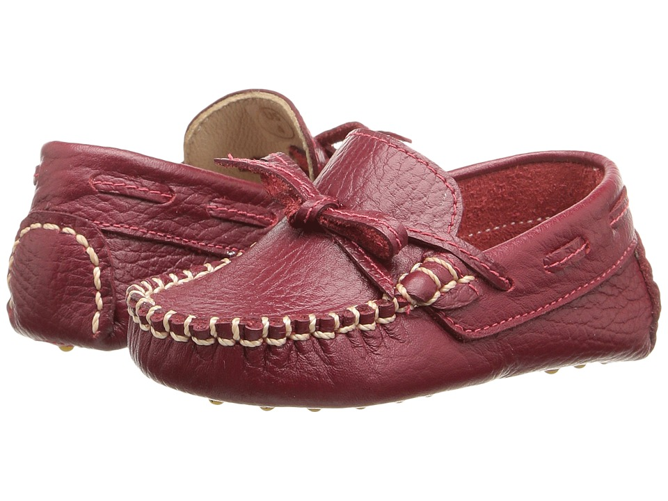 Elephantito Driver Loafer (Infant/Toddler) (Racing Red) Boys Shoes