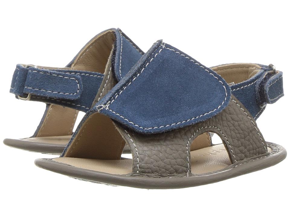Elephantito Toby Sandal (Infant/Toddler) (Grey) Boys Shoes