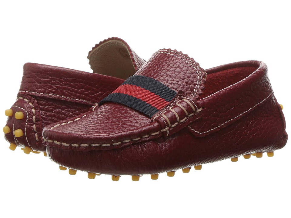 Elephantito - Club Loafer (Toddler) (Racing Red) Boys Shoes