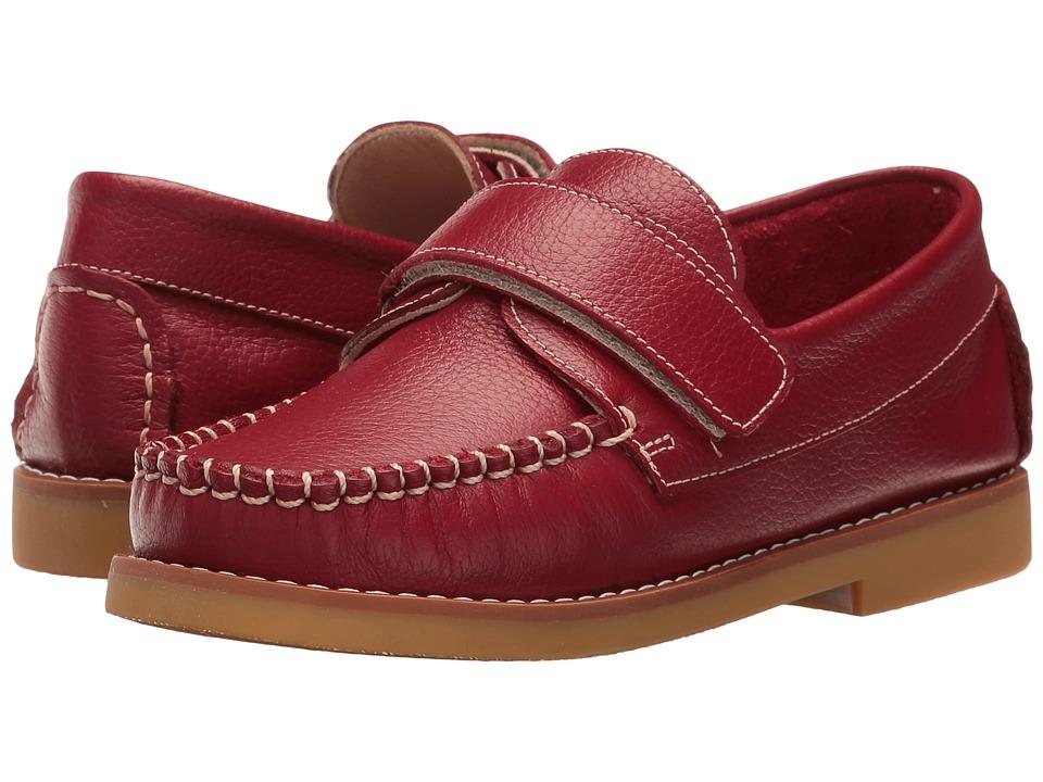 Elephantito - Nick Boating Shoe (Toddler/Little Kid/Big Kid) (Racing Red) Boy's Shoes