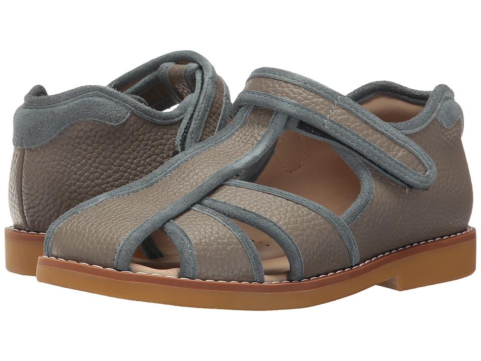 Elephantito Rocky Sandal (Toddler/Little Kid) (Grey) Boys Shoes