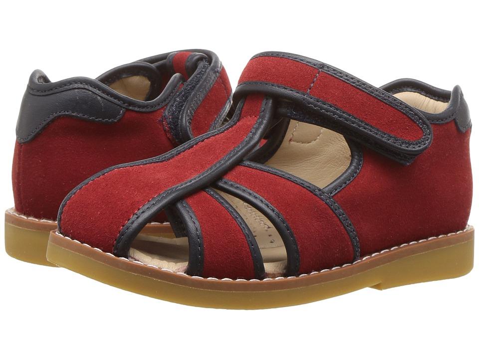 Elephantito Rocky Sandal (Toddler/Little Kid) (Red) Boys Shoes