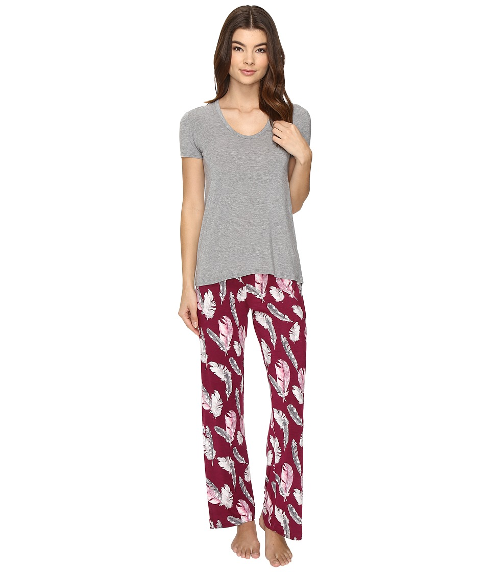 P.J. Salvage - PJ Set Modal (Violet) Women's Pajama Sets