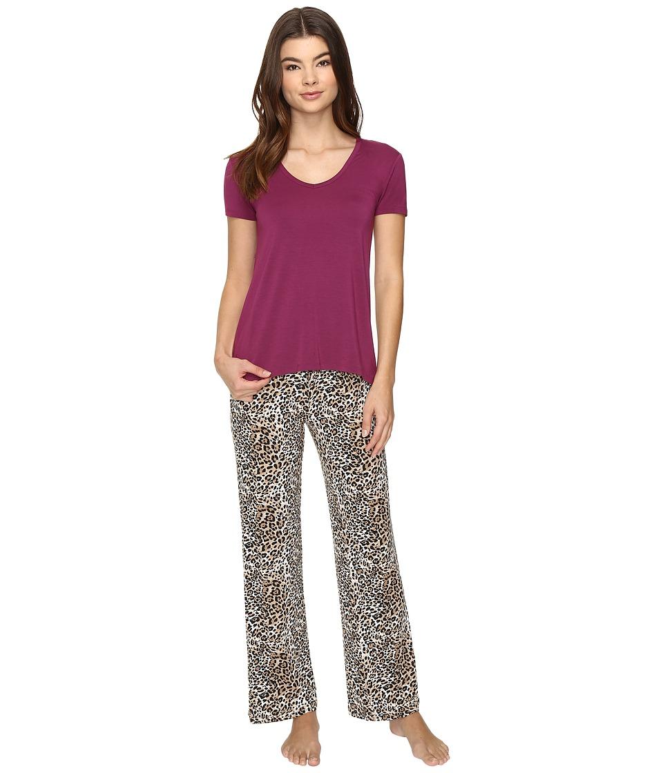 P.J. Salvage - PJ Set Modal (Tan) Women's Pajama Sets