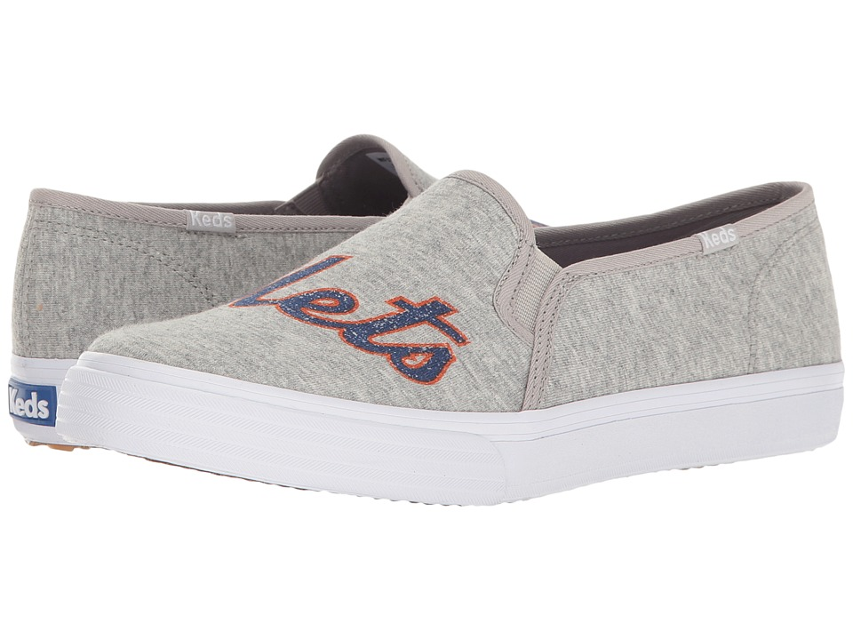 Keds Double Decker MLB Mets Jersey (Light Gray) Women