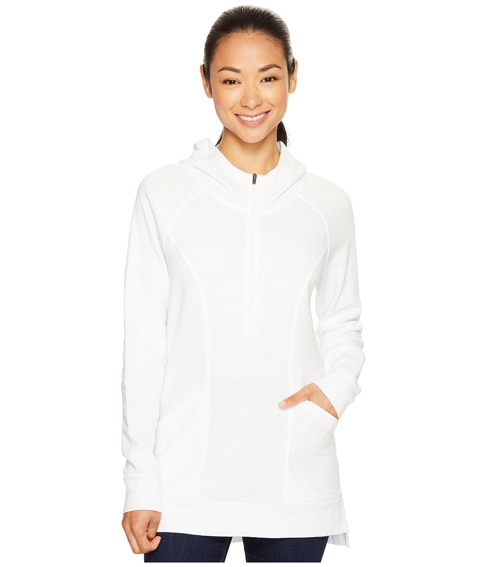 Lucy OM 1/2 Zip Pullover (Lucy White) Women