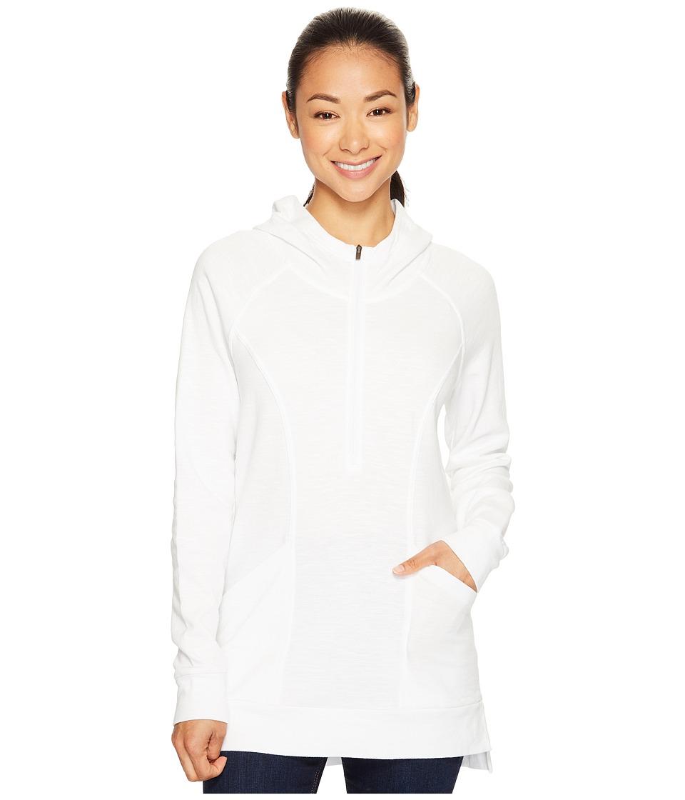 Lucy - OM 1/2 Zip Pullover (Lucy White) Women's Sweatshirt