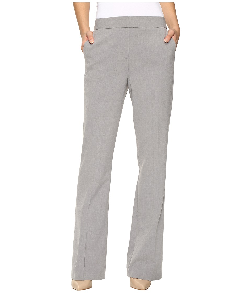 Calvin Klein - Wide Leg Trousers (Tin) Women's Casual Pants