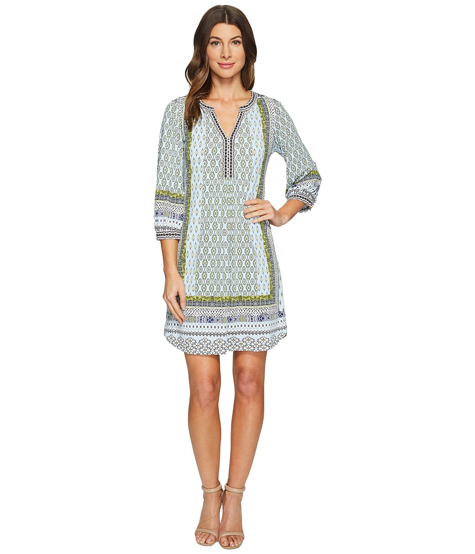 Hale Bob - Clean Slate Microfiber Jersey Dress (Light Blue) Women's Dress