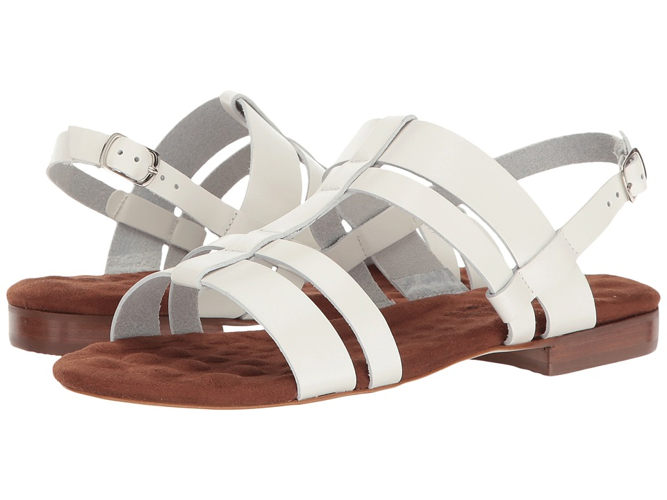 Walking Cradles - Frisky (White Leather) Women's Sandals