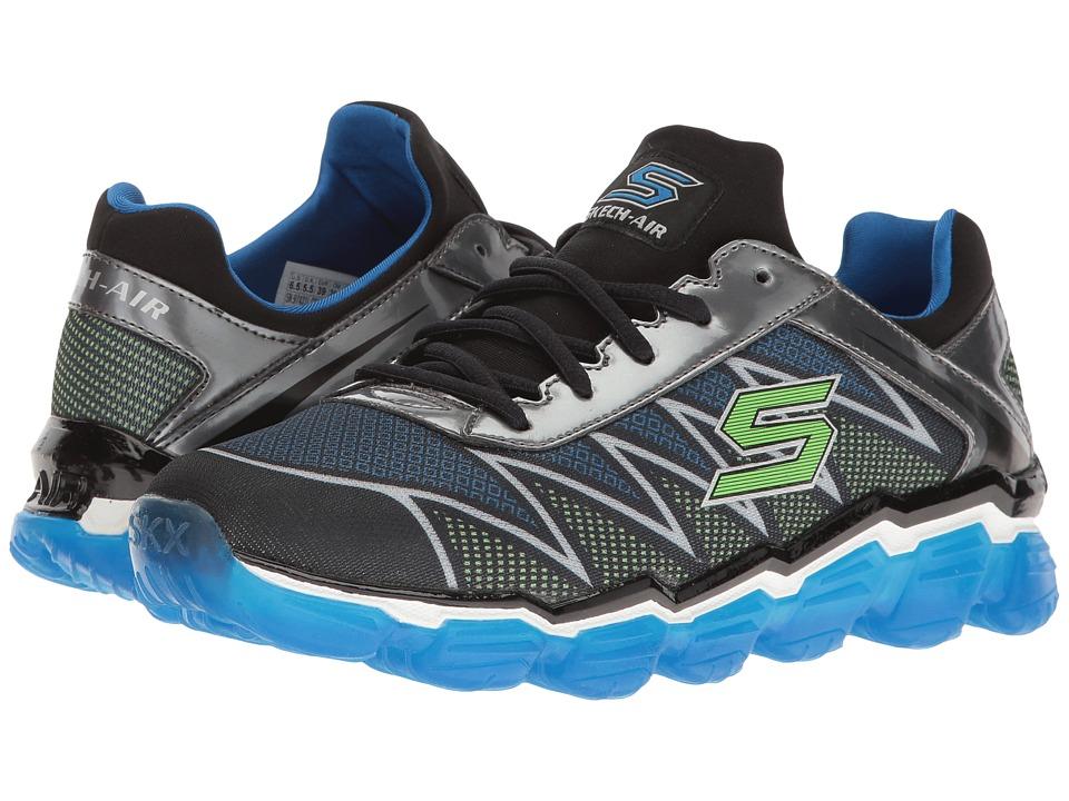 SKECHERS KIDS - Skech Air 97421L (Little Kid/Big Kid) (Black/Blue/Lime) Boy's Shoes